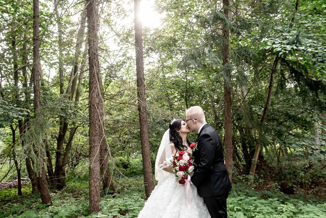 Billeder af bryllupsfoto
